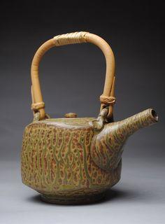 Clay Teapot Stoneware Green Ash by JohnMcCoyPottery on Etsy, $65.00  www.etsy.com/shop/JohnMcCoyPottery
