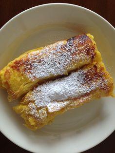 【検証】ホテルオークラが公式に「フレンチトースト」のレシピを紹介!+作ってみたら…まるでプリンケーキみたいになったぁ!!