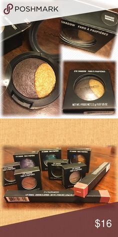 MAC Cosmetics eye shadow - Midnight Madness (NIB) Limited edition eye shadow - new in box! Cool toned dirty black-taupe with lighter silver sparkles in the larger area, with glittery gold in the smaller :-). Absolutely gorgeous! MAC Cosmetics Makeup Eyeshadow