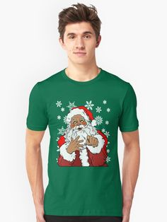 Buy 'Christmas Santa Clause, X-Mas Jolly Season Graphic' by Kevin O'Brien as a T-Shirt, Classic T-Shirt, Tri-blend T-Shirt, Lightweight Hoodie, Women's Fitted Scoop T-Shirt, Women's Fitted V-Neck T-Shirt, Women's Relaxed Fit T-Shirt, Graphic, #christmas , #gifts , #giftideas, #clothing , #winter, #infographic , #humor , #mensfashion , #women , #womensfashion , #funny, #partyideas , #halloween , #thanksgiving, #followme , #recipe , #travel , #menswear, #kids , #christmascrafts, #vintage, #red…