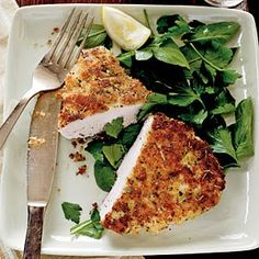 In Search of the Finer Things: Light Italian-Style Breaded Chicken