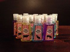 Farm Party Favors- Hand Sanitizers, Soap, Birthday Party Favors, Farm Animals. Personalized Favors, Weddings, Baby Shower