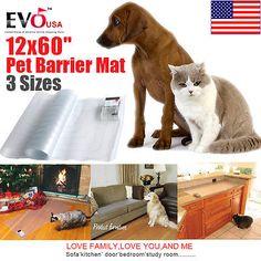 12x60 Electronic Pet Training Dog Cat Barrier Repellent Shock Scat Mat Pad