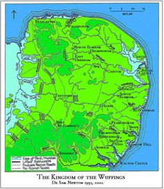 Wuffingas Wuffings possible map an Anglo Saxon Kingdom?...