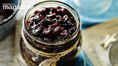 Mulled cranberry and red onion chutney