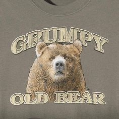 Grumpy Old Bear T-Shirt // For some of our more cantankerous Baylor Bears!