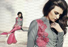 Anarkali Salwar Indian Designer Bollywood Pakistani Suit Ethnic Partydress 2148…