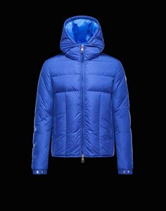moncler blue bubble jacket