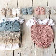 con ganas de Lola! #pelotedelainebb #ropabebe #fashionbaby #handmade #hechoamano #Lola Diy Crafts Knitting, Knitting For Kids, Crochet Baby Sandals, Crochet Baby Hats, Baby Girl Patterns, Baby Knitting Patterns, Baby Girl Fashion, Kids Fashion, Winter Baby Clothes