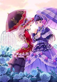 Love Love Anime trên Zing Me Kawaii Anime Girl, Pretty Anime Girl, Anime Art Girl, Manga Girl, I Love Anime, Anime Girls, Anime Sisters, Anime Siblings, Anime Best Friends
