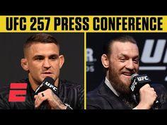 UFC 257: Dustin Poirier vs. Conor McGregor 2 Press Conference   ESPN MMA - YouTube