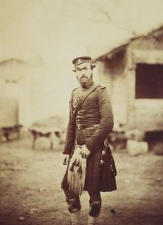 Colonel Grant 42nd Royal Highland regiment  c1854 Royal Collection Trust