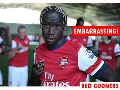 Sagna - Trophy Drought is embarrassing  #Arsenal #Sagna #COYG
