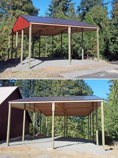 20' x 24' x 10' agricultural building www ...