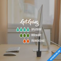 Get Going - Essential Oil Diffuser Blend
