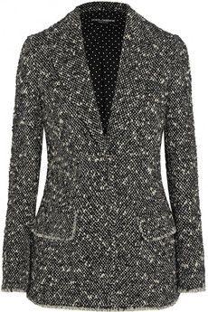 Dolce & Gabbana Wool-blend bouclé blazer | NET-A-PORTER