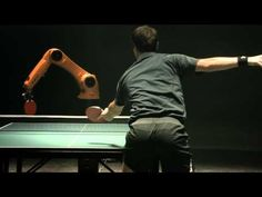 The Fastest Robot In The World Takes On Best Ping Pong Player In The World For Epic Duel #ZAGGdaily #KUKArobot #pingpong #duel