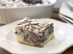 Crazy for Cookies and more: Mixed Berry Almond Sweet Roll Cake