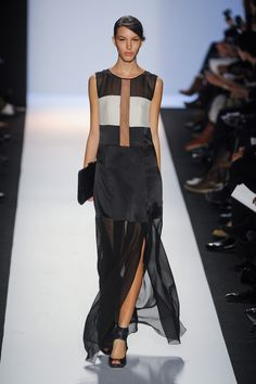Color Blocking at BCBG Max Azria Fall 2012