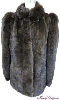 Mahogany Mink and Brown Fox Jacket Mink Fur, Mink Coats, Fur Coat, Fox Fur Jacket, Brown, Cuffs, Jackets, Range, Bracelet