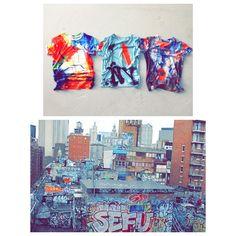 Graffiti Nowego Jorku na koszulkach Zig Zag Zone. Dostępne w Forum Mody #zigzagzone #forumody #graffiti #newyork #bigapple #industrial #tshirt #style #fashion #manhattan #welovenewyork