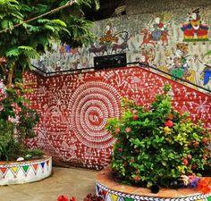 Wall mural, Kites, Ahmedabad skyline, Utttarayanh