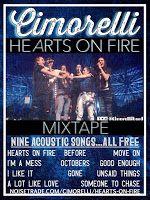 Promote Cimorelli Hearts On Fire
