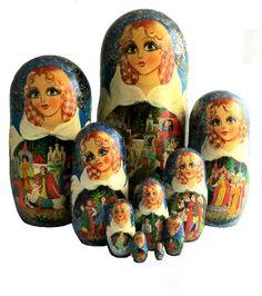 Easter Eggs, Dolls, Matryoshka Doll, Beautiful Dolls, Storytelling, Hand Made, Baby Dolls, Doll, Girl Dolls