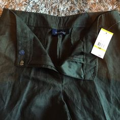 "Evan-Picone petite ""breen"" dress pants NWT! Size 14P brown/green color hence the name ""breen"" on the tag Evan Picone Pants"