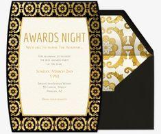 10 glorious award ceremony invitation templates free premium awards show viewing party evite stopboris Choice Image