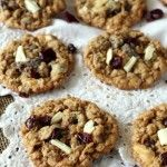 Cranberry White Chocolate Oatmeal Cookies (2)