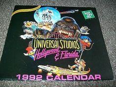 Back to the Future the ride universal studios florida 1992 calendar (06/26/2014)