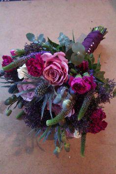 Purple & Pink wedding inspiration from Facebook
