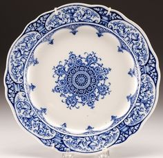 I need blue and white china