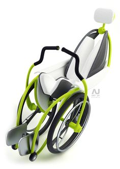 Modern foldable wheelchair.>>> See it. Believe it. Do it. Watch thousands of spinal cord injury videos at SPINALpedia.com