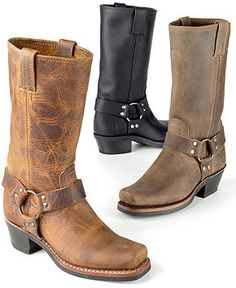 Frye Women's Shoes, Harness Mid-Calf Boots - Shoes - Macy's