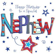 Cute Birthday Wishes For My Nephew - Happy Birthday Wishes, Memes, SMS & Greeting eCard Images Happy Birthday Wishes Boy, Happy Birthday Nephew Funny, Birthday Wishes For Nephew, 1st Birthday Cards, Birthday Card Template, Happy Birthday Greeting Card, Birthday Wishes Quotes, Happy Birthday Images, Birthday Messages