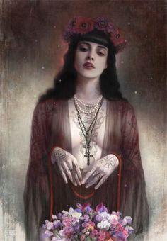 El oscuro arte de Tom Bagshaw | OLDSKULL.NET