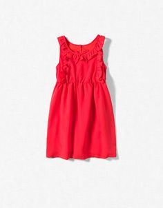 DRESS WITH FRILL DETAILING - Dresses - Girl (2-14 years) - Kids - ZARA United States