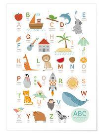 Sandy Lohß Premium-Poster Tiere des Meeres