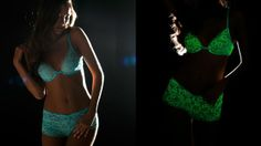 Glow-in-the-Dark Lingerie!  From Cosabella