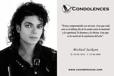 """Michael Jackson - Cantante, Compositor y Bailarín Estadounidense. Conocido mundialmente como el """"Rey del Pop""""."""