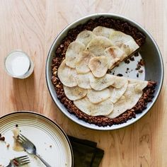 Gluten-Free Poached Pear Pie