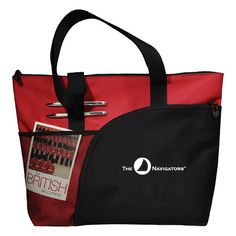 The Navigators Excel Red Sport Utility Tote