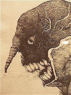 Printmaking by Toshihiko Ikeda -