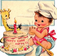 Baby's Birthday Vintage Digital Download Images (167)