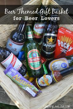 b8d130010b4c9 Beer Themed Gift Basket for Beer Lovers