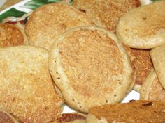 4 Sons R Us: Baby Cereal Pancakes *Don't let those boxes of baby cereal pile up and go to waste. Instead try these wholesome Baby Cereal Pancakes. An easy to make breakfast or snack, perfect for learning to 'chew'. *