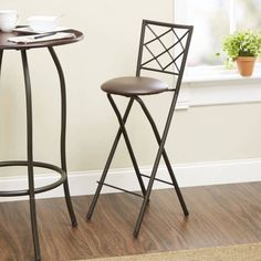 Linon Triena 24 Bar Stool With Cushion Review Products