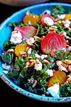 Roasted Beet Salad with Pomegranate Mint Dressing This roasted beet ...